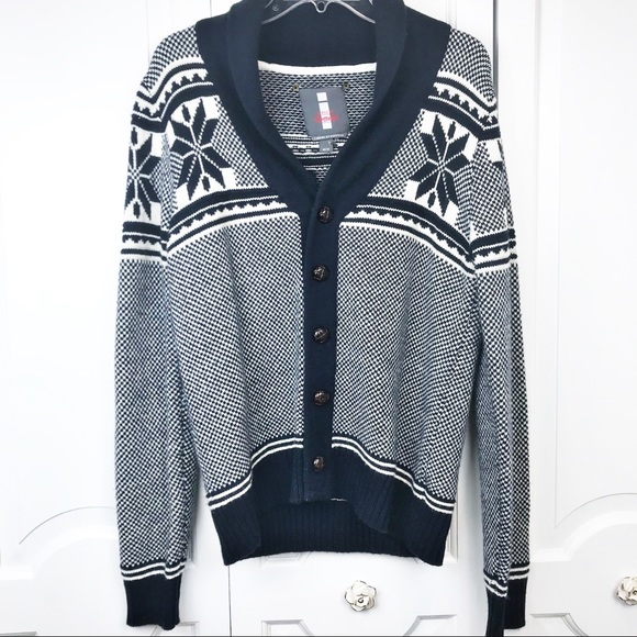 Buffalo David Bitton Other - Buffalo David bitton fair isle cardigan sweater